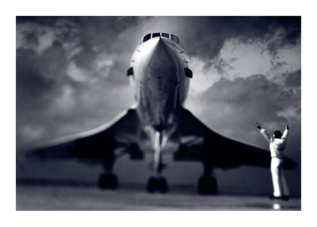 Peter Ginter Photography - FineArt-Print - Concorde Photo - Charles de Gaulle