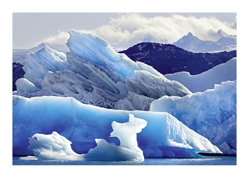 Peter Ginter Photography - FineArt-Print - Glacier Ice - El Calafete Argentina