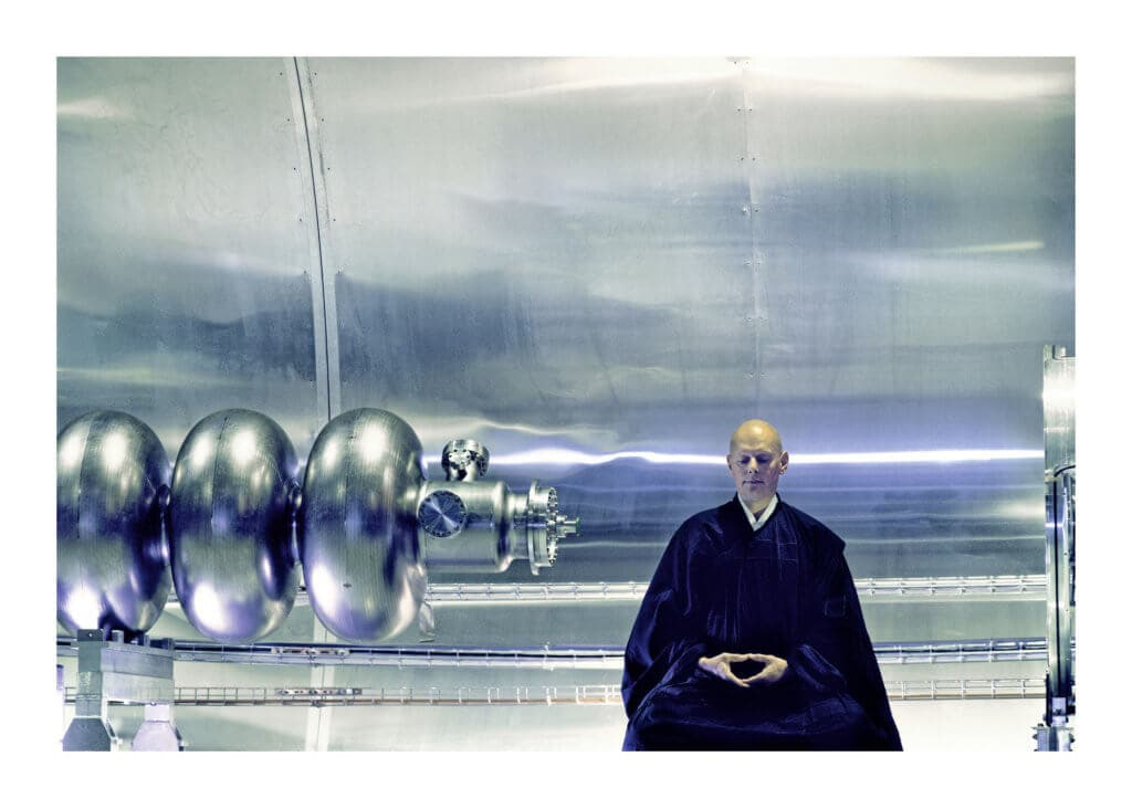 Peter Ginter Photography - FineArt-Print - The Monk - LHC CERN Foto