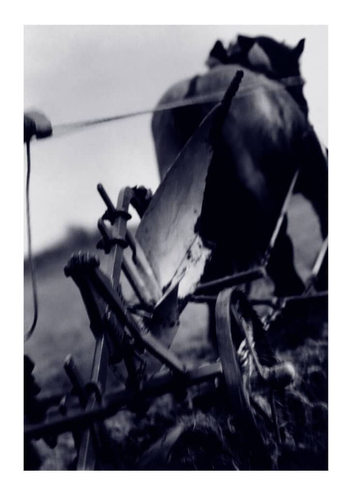 Peter Ginter Poster Fine Art Print - The Plow Black and White