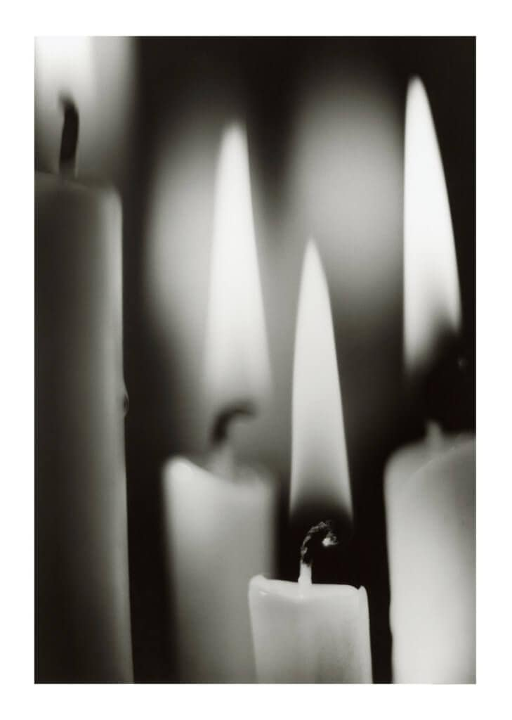 Peter Ginter Photography - FineArt-Print - Candle Light - Black and White
