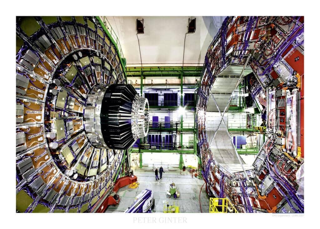CMS-Experiment / CERN 2007 © Peter Ginter